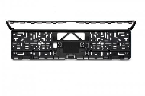 Kennzeichenhalter EVO 1 schwarz 520 x 110 mm