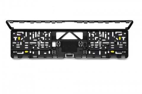 Kennzeichenhalter EVO 3 schwarz 520 x 110 mm
