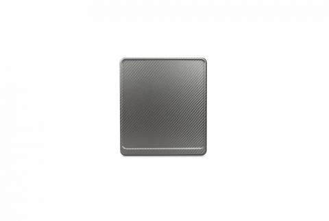 Alu-Verstärker 180 x 200 mm Premium Carbon-Optik