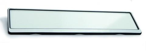 Kennzeichenhalter Future silber 520 x 110 mm