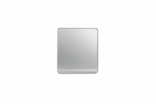 Alu-Verstärker 180 x 200 mm Silber